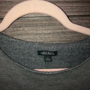 wild fable Tops - Wild Fable Cropped Sweatshirt